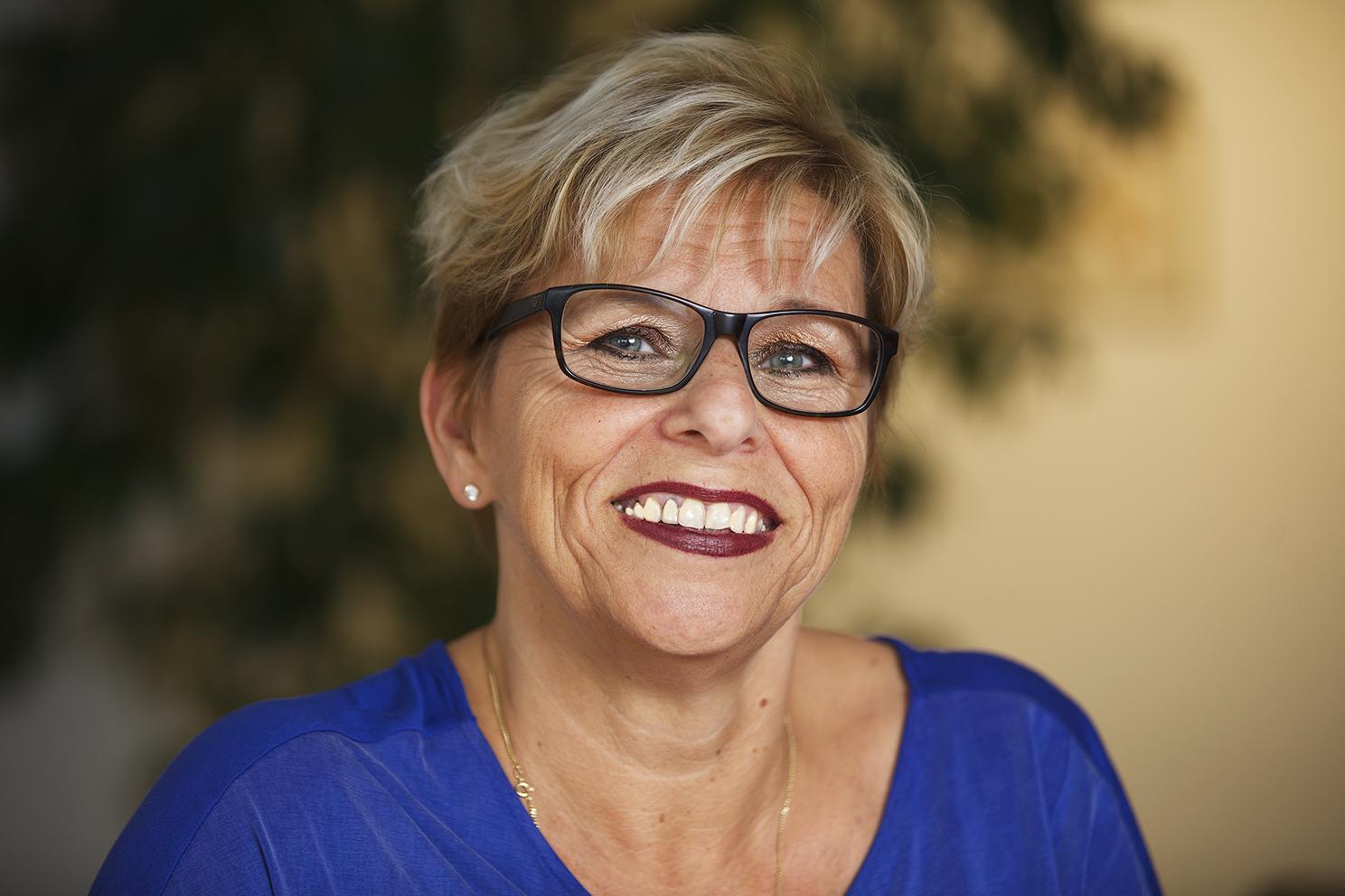 Portret van Marian Hagenbeek