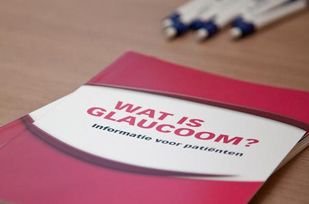 foldermateriaal glaucoom
