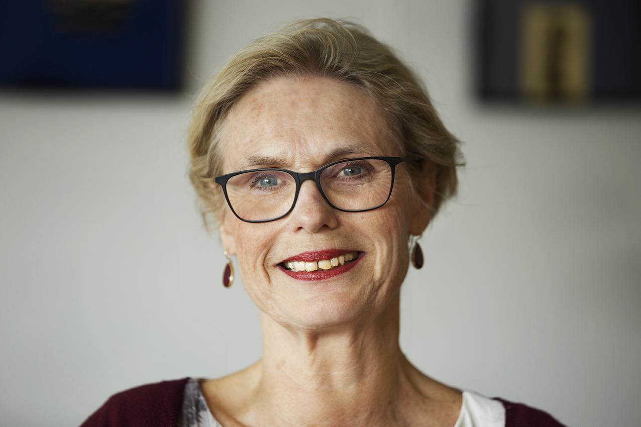 Portret van Anneke Jansen