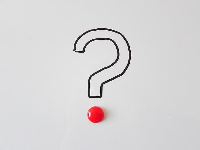 Afbeelding van vraagteken: stel uw vraag aan de Ooglijn