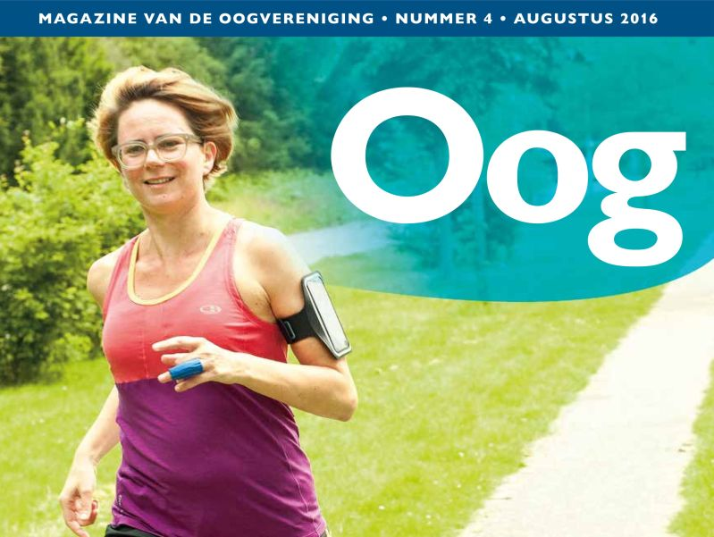 Cover magazine Oog 2016-4
