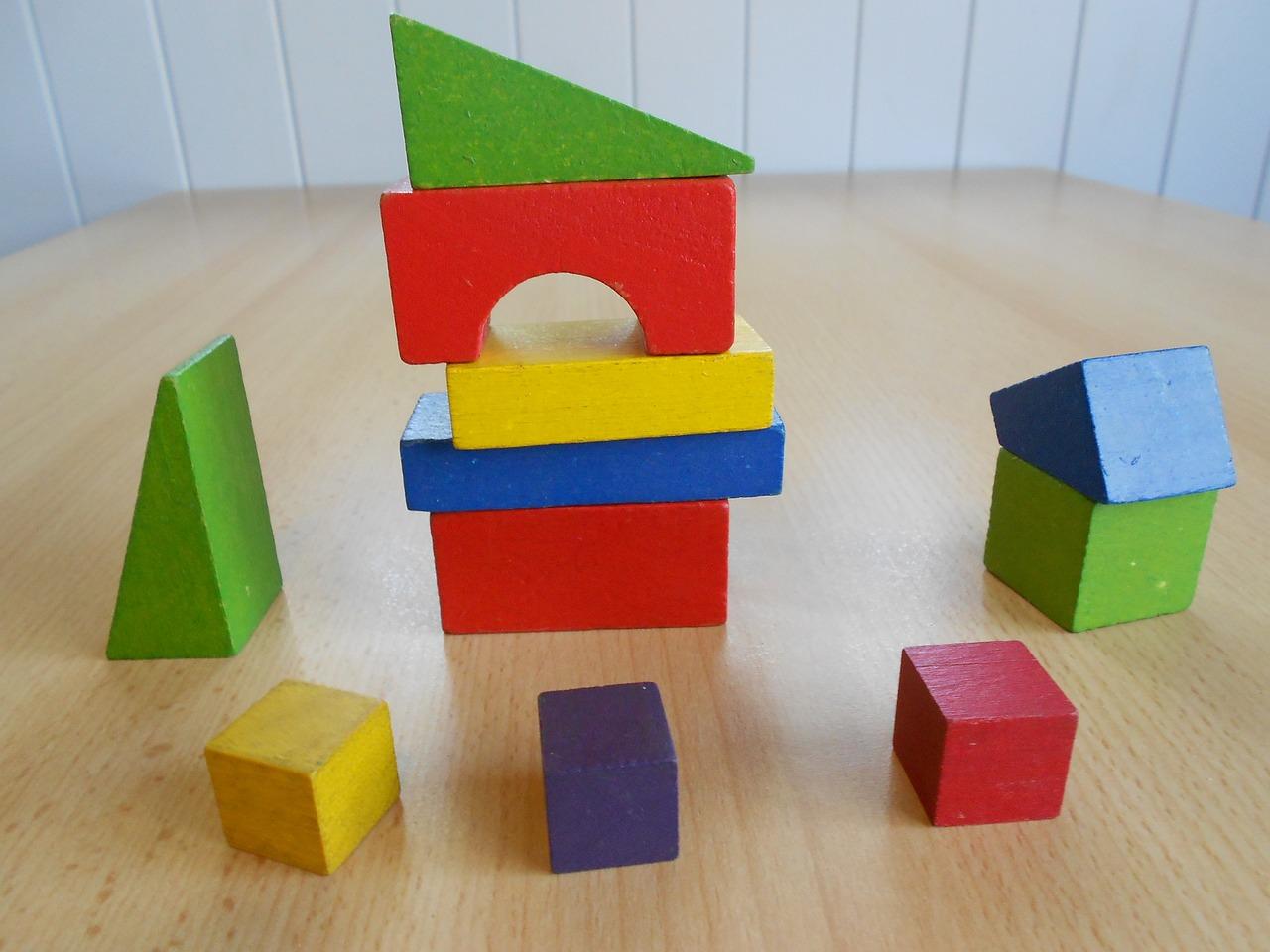 blokken, kinderspeelgoed