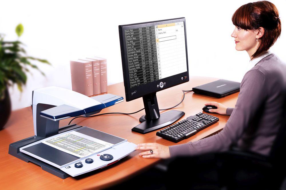computer met schermleessoftware