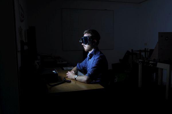 Ronald Bierings, onderzoeker Zicht op licht
