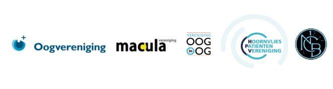 logo's samenwerkende oogpatiëntenorganisaties