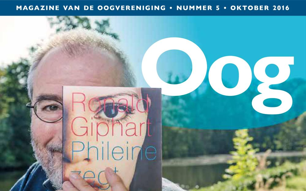 omslag van OOG, het magazine van de Oogvereniging