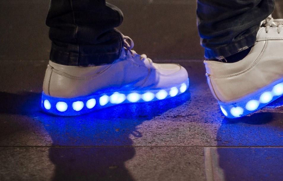 schoenen met verlichting