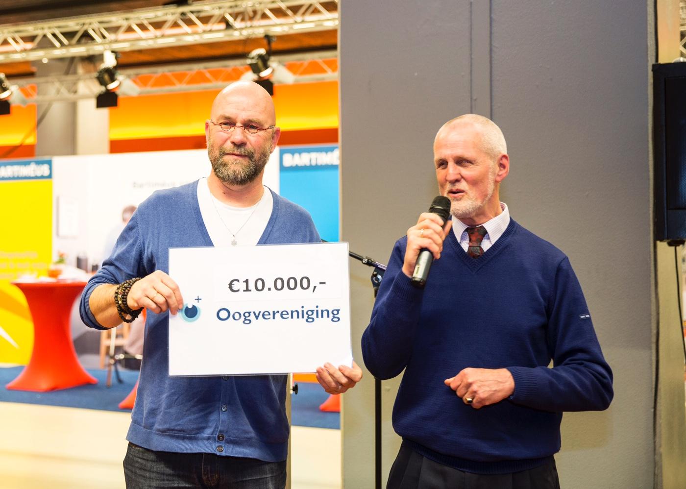 Rob van Vliet-innovatieprijs uitgereikt voor idee slimme deurbel