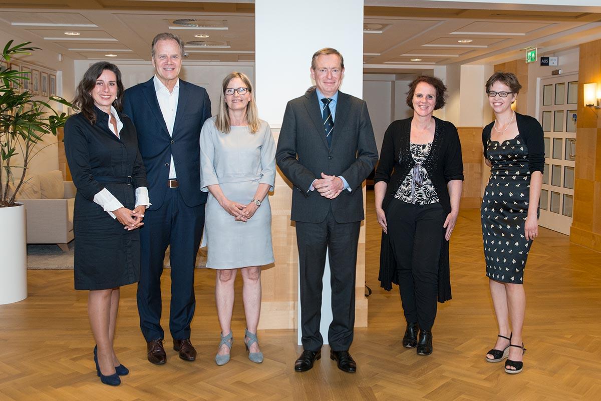 Gesprek met Minister VWS, Bruno Bruins.