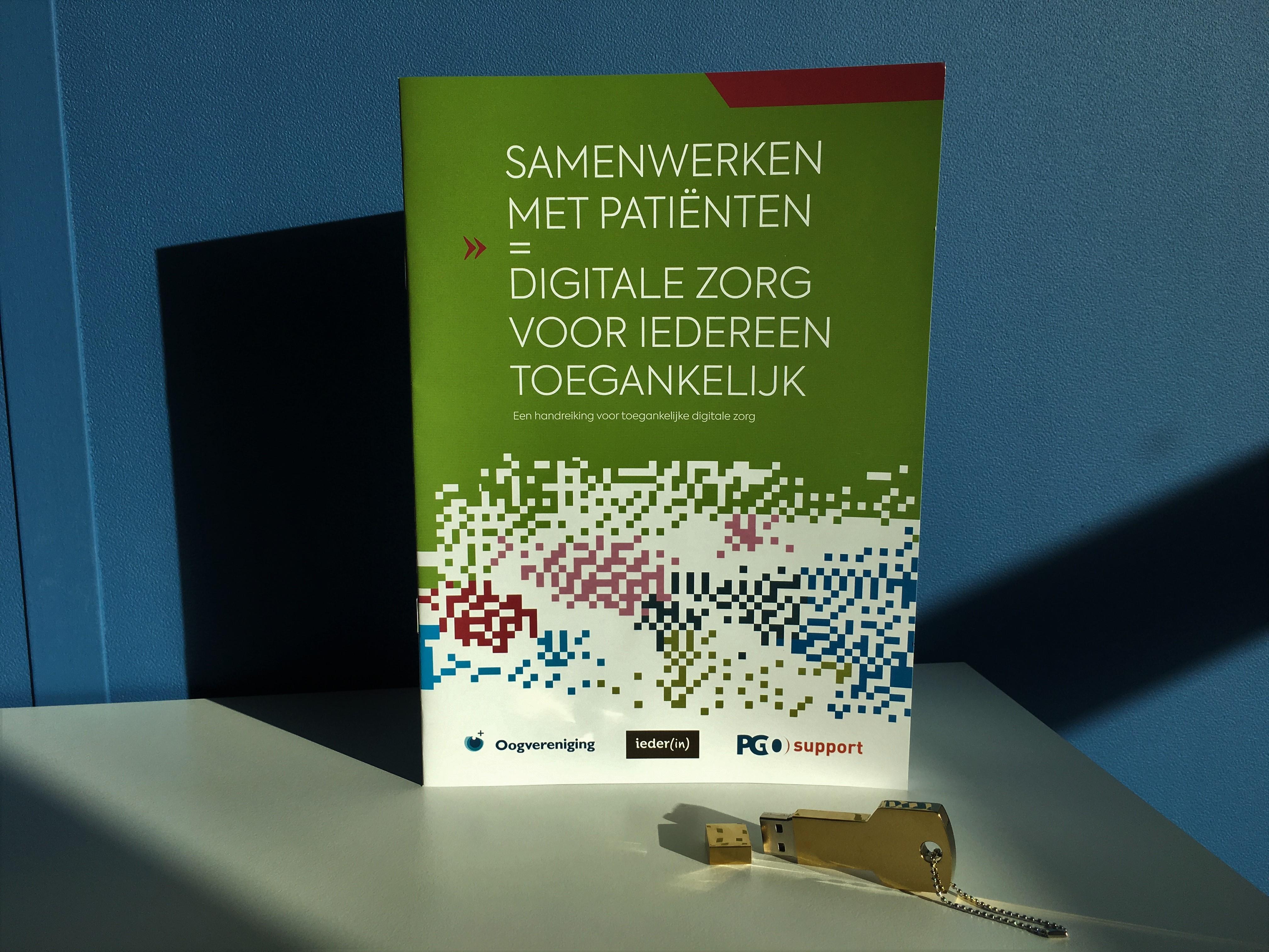 Foto Brochure digitale zorg voor iedereen toegankelijk