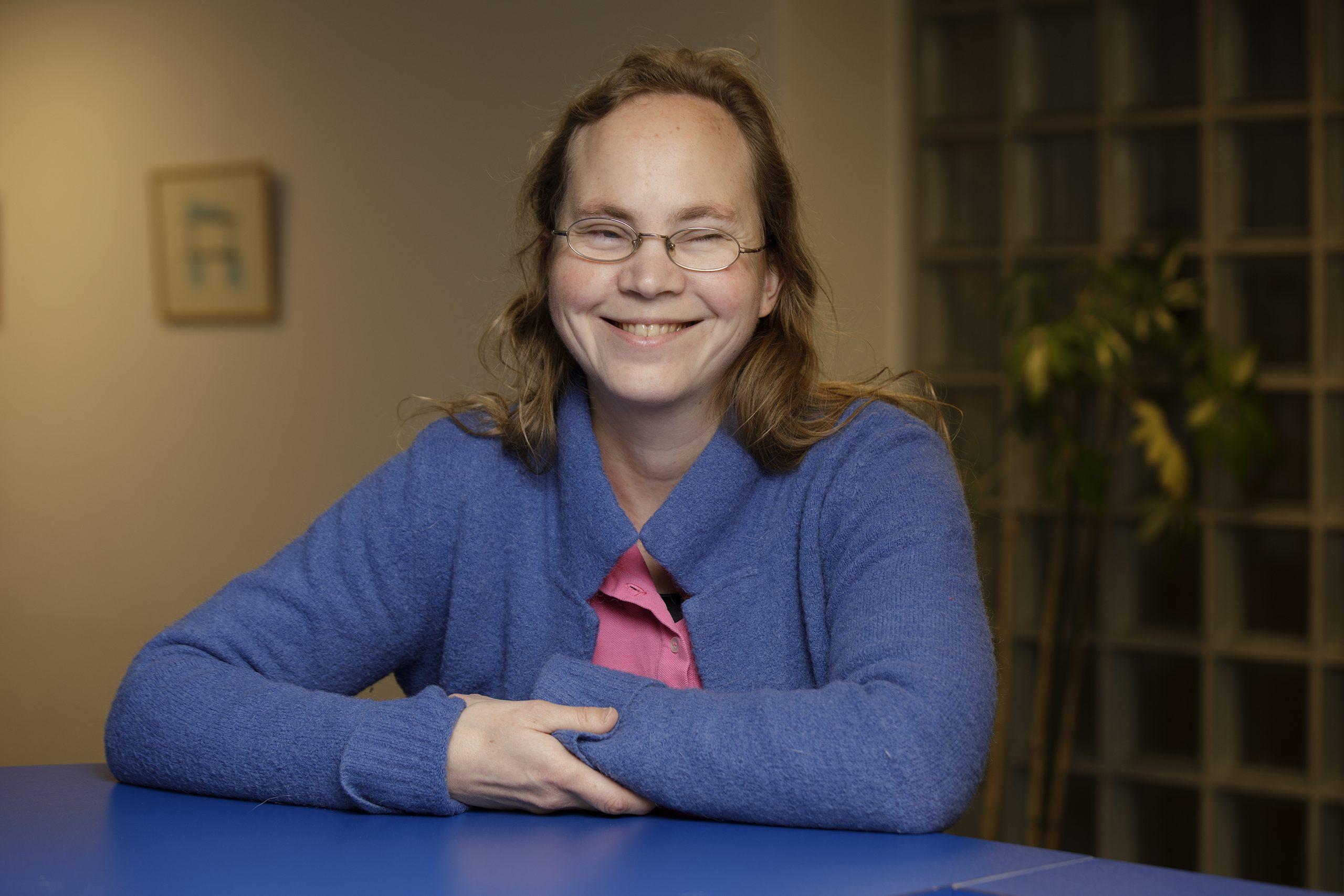Portret van Kirsten Veldhoen
