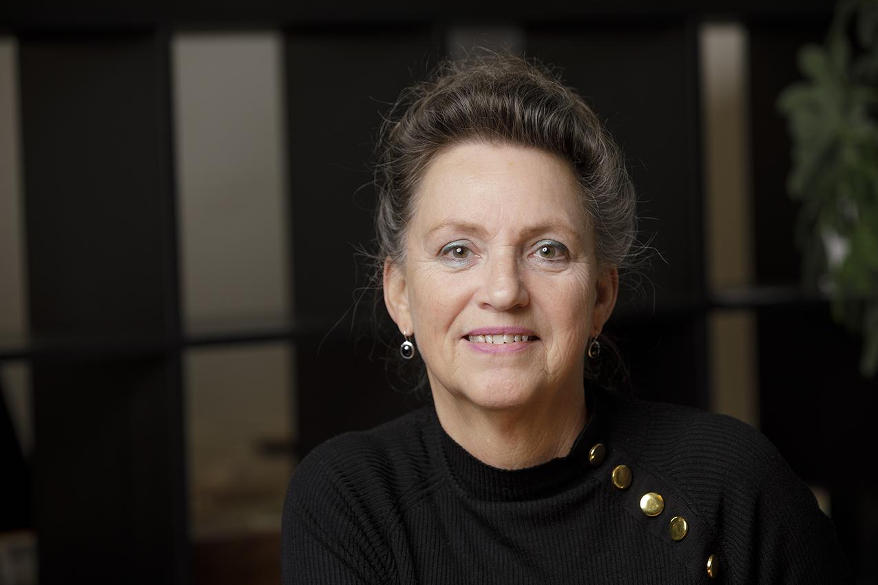Portret van Annelies Lichtenberg