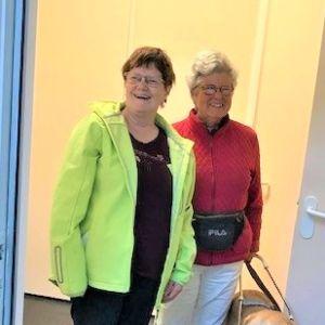 Marieke Kooijmans en Karin Hoefmans